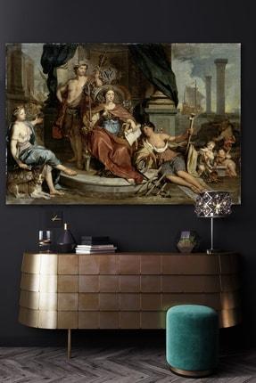 Hediyeler Kapında Rönesans Sultan Kanvas Duvar Tablo 100x140