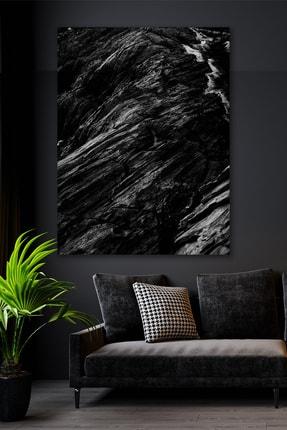 Hediyeler Kapında Black Stone Kanvas Duvar Tablo 100x140