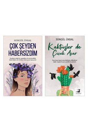 Olimpos Yayınları Çok Şeyden Habersizdim - Songül Ünsal , Kaktüsler De Çiçek Açar - Songül Ünsal (2li Set)