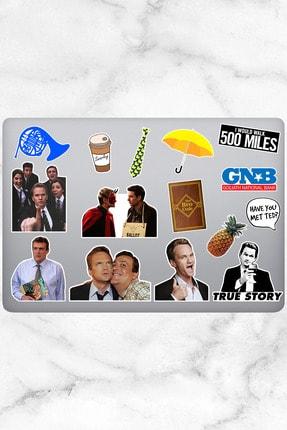Varonesa How I Met Your Mother Temalı Laptop Notebook Tablet Sticker Seti 15 Adet