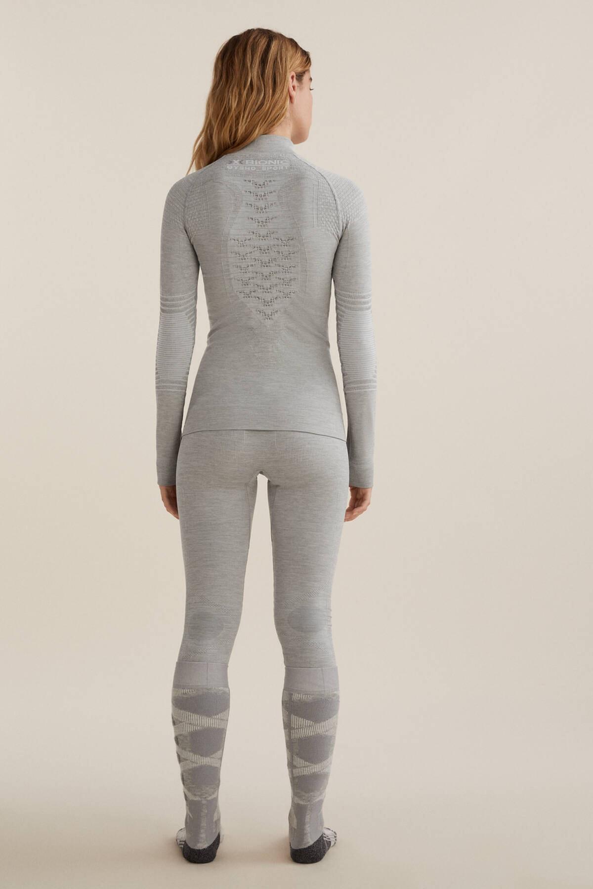 Oysho Kadın Gri Dikişsiz Teknik Kayak Taytı X-Bionic Energizer® 4.0 2