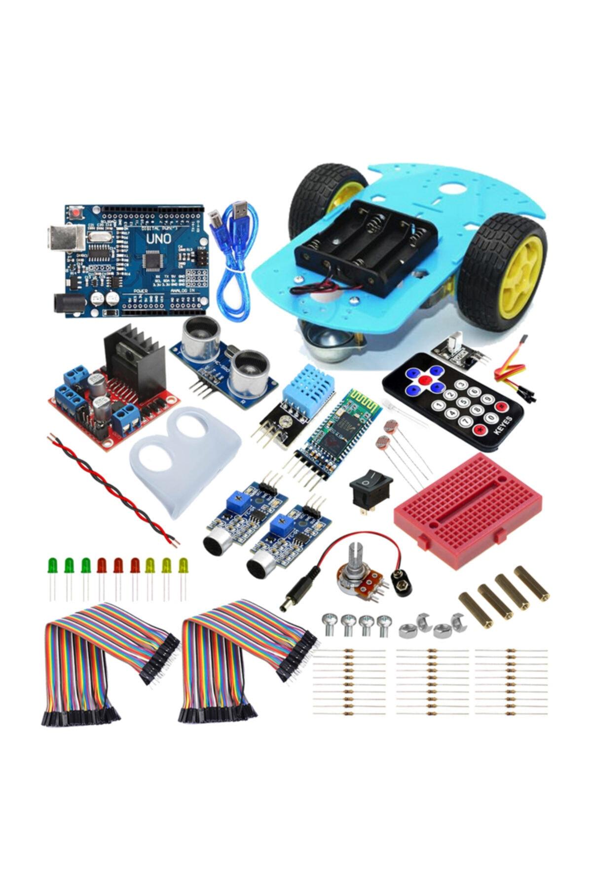 Arduino Robotik Kodlama Seti - Online Eğitime Uygun 1