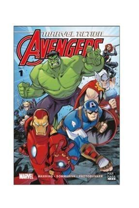 Marmara Çizgi Yayınları Marvel Action Avengers-1 Matthew K. Manning