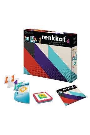 Zetzeka Renk Kat (okul Öncesi) Akıl Zeka Oyunu