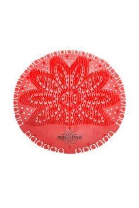 Rulopak Kırmızı Tropikal Pisuvar Süzgeç