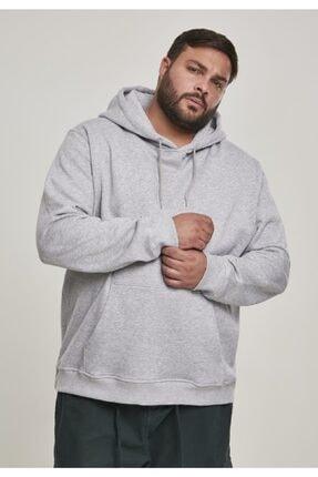 Jessyamor Erkek Gri Battal Kalın Sweatshirt