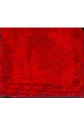 Merinos Elegans Embos Vizon Battaniye Tek Kişilik 160x220 Kırmızı