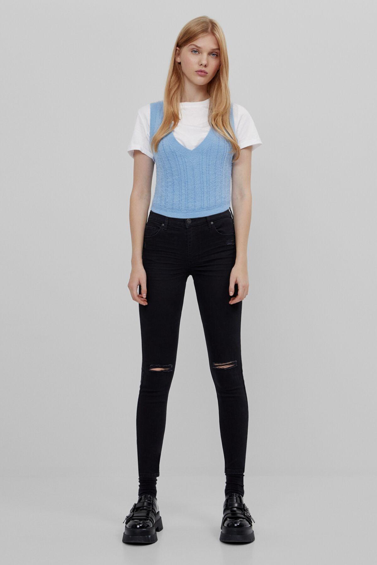 Bershka Regular Belli Jean