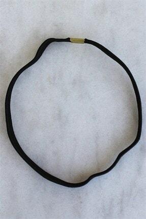 TAKIŞTIR Unisex Siyah Kalın Saç Bandı