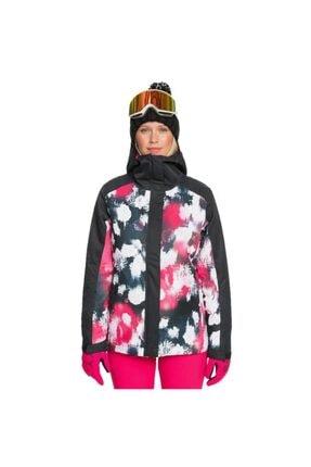 Roxy Kadın Siyah Galaxy Kayak Ve Snowboard Mont Erjtj03270-kvj4