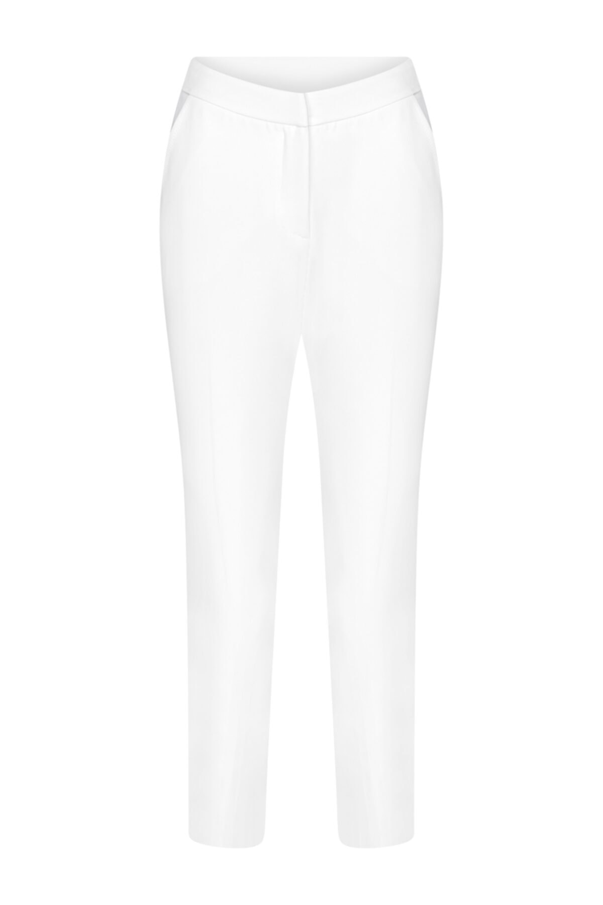 W Collection Kadın Ekru Basic Pantolon 1