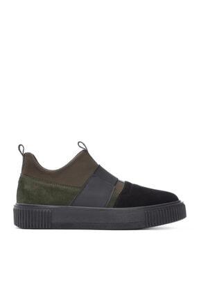 KEMAL TANCA Erkek Siyah Deri Sneaker 352 13069
