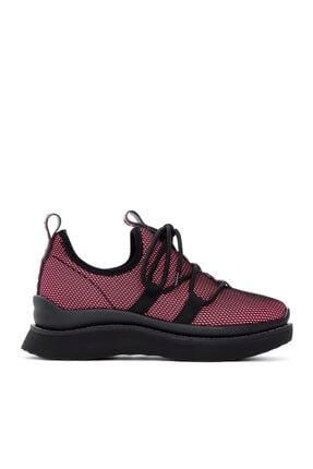 KEMAL TANCA Kadın Pembe Tekstil Sneaker 212 1001