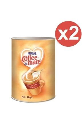 Nestle Coffee Mate Kahve Kreması 2 Kg Teneke X 2 Adet