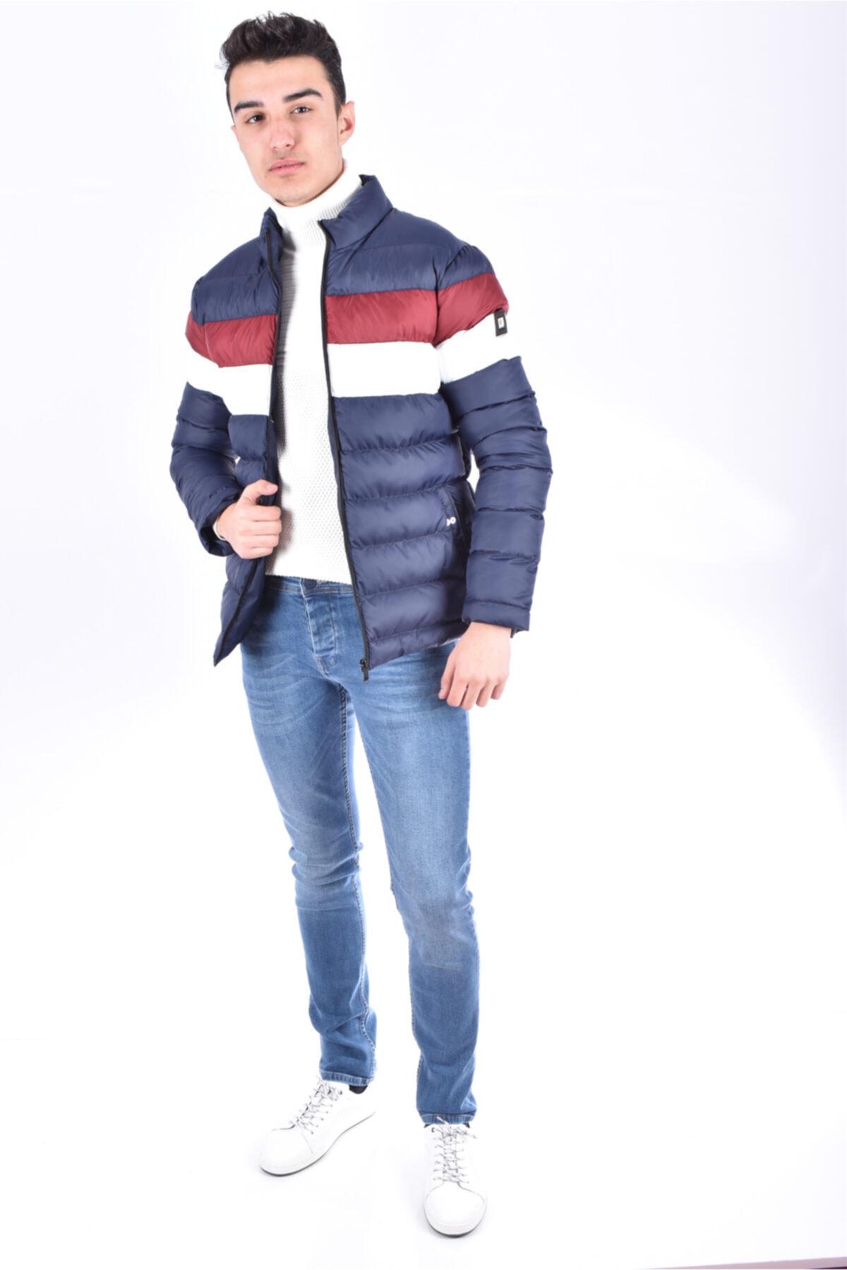 Onzie Erkek Lacivert Şişme Mont Onz 206 1