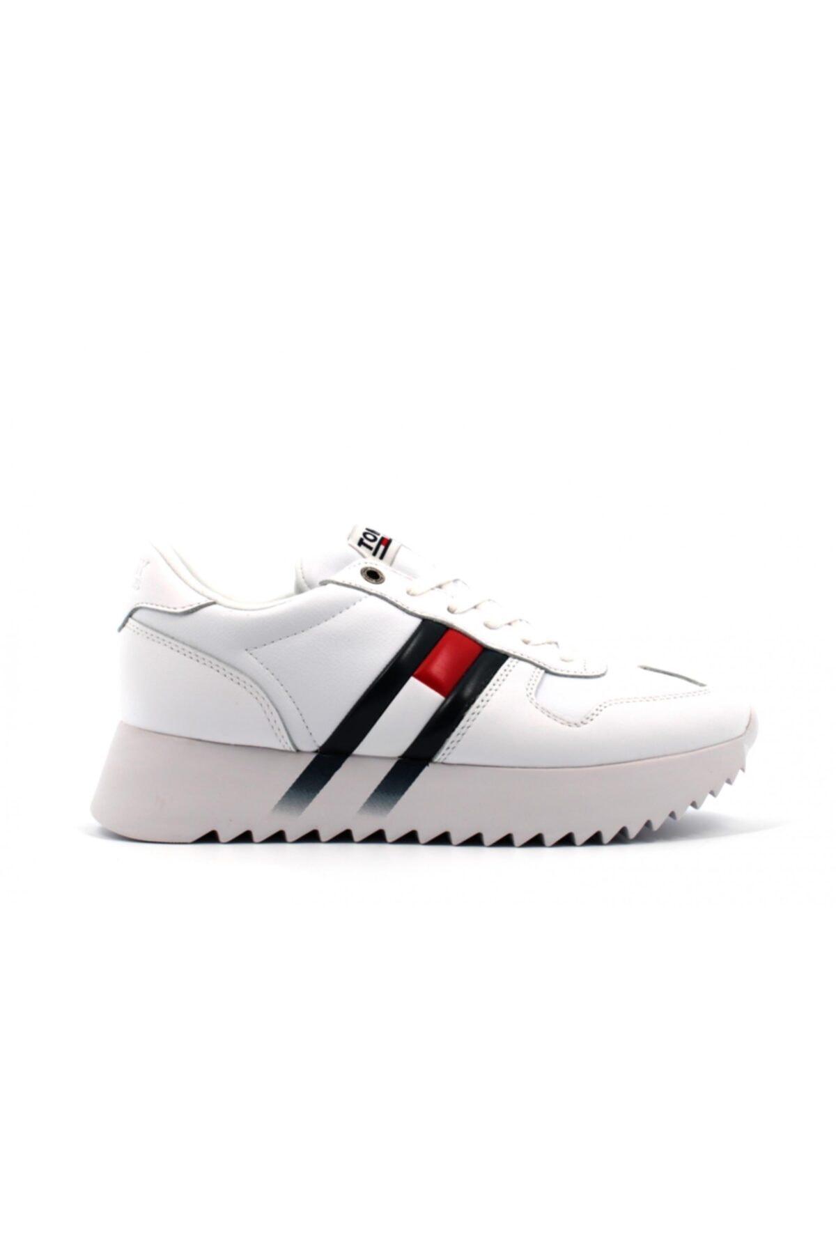 Tommy Hilfiger Tommy Hifiger Sneakers Beyaz Kadın 1