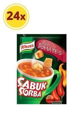 Knorr Acılı Domates Çabuk Çorba 22 Gr X 24 Adet