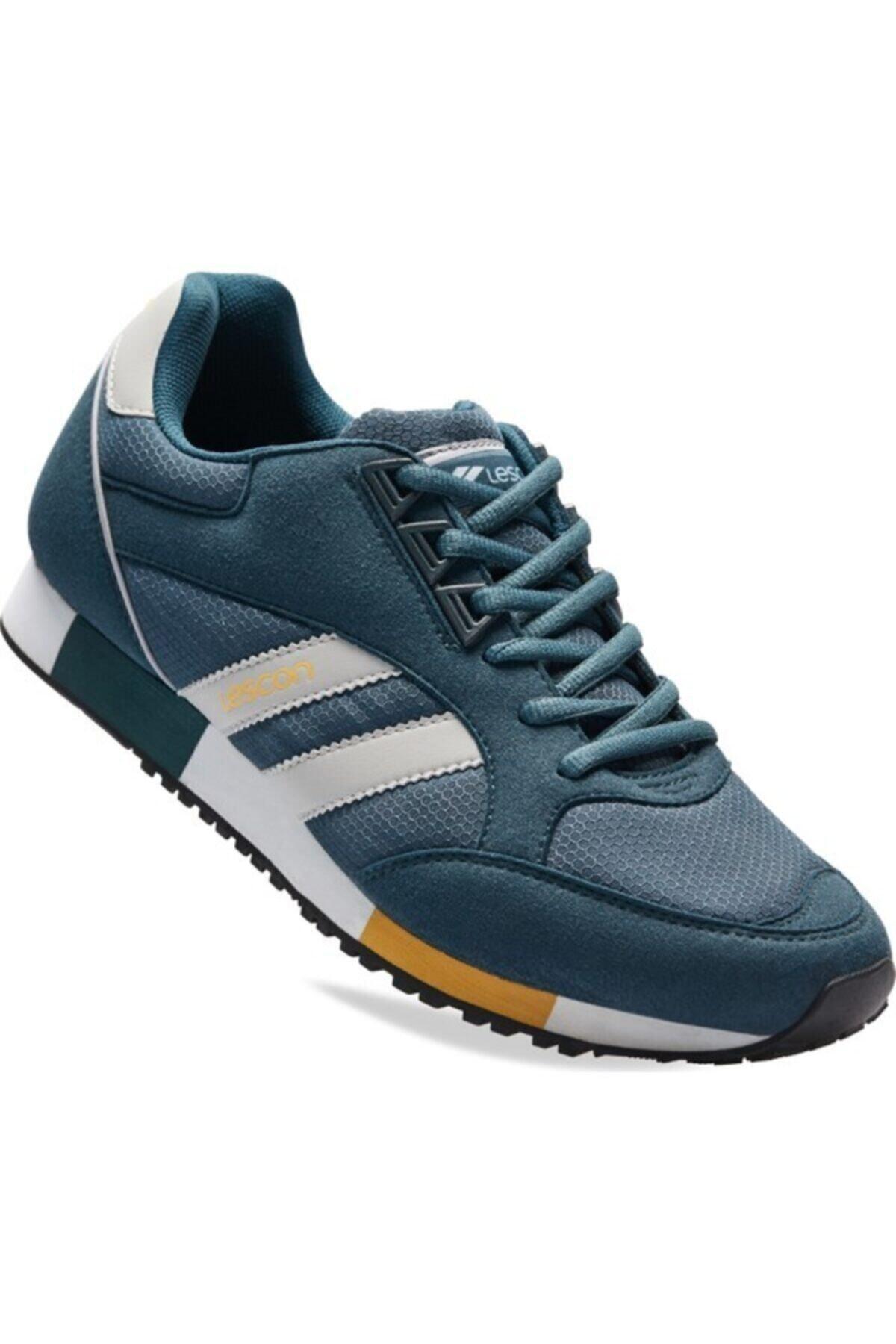 Lescon Unisex Lacivert Boston Sneakers Ayakkabı 1
