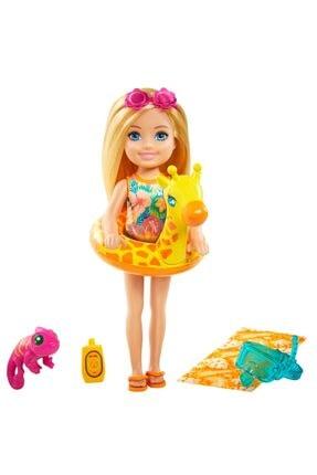Barbie Chelsea Kayıp Doğum Günü Chelsea ve Hayvanları Oyun Setleri Grt81