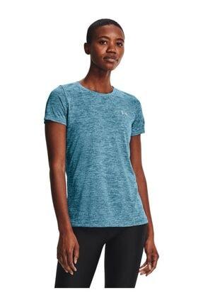 Under Armour Kadın Spor T-Shirt - Tech SSC - Twist - 1277206-446