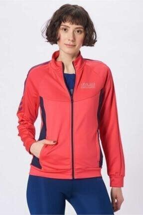 HUMMEL Kadın Pembe Sweatshirt Helin Zip Jacket T37516-1045