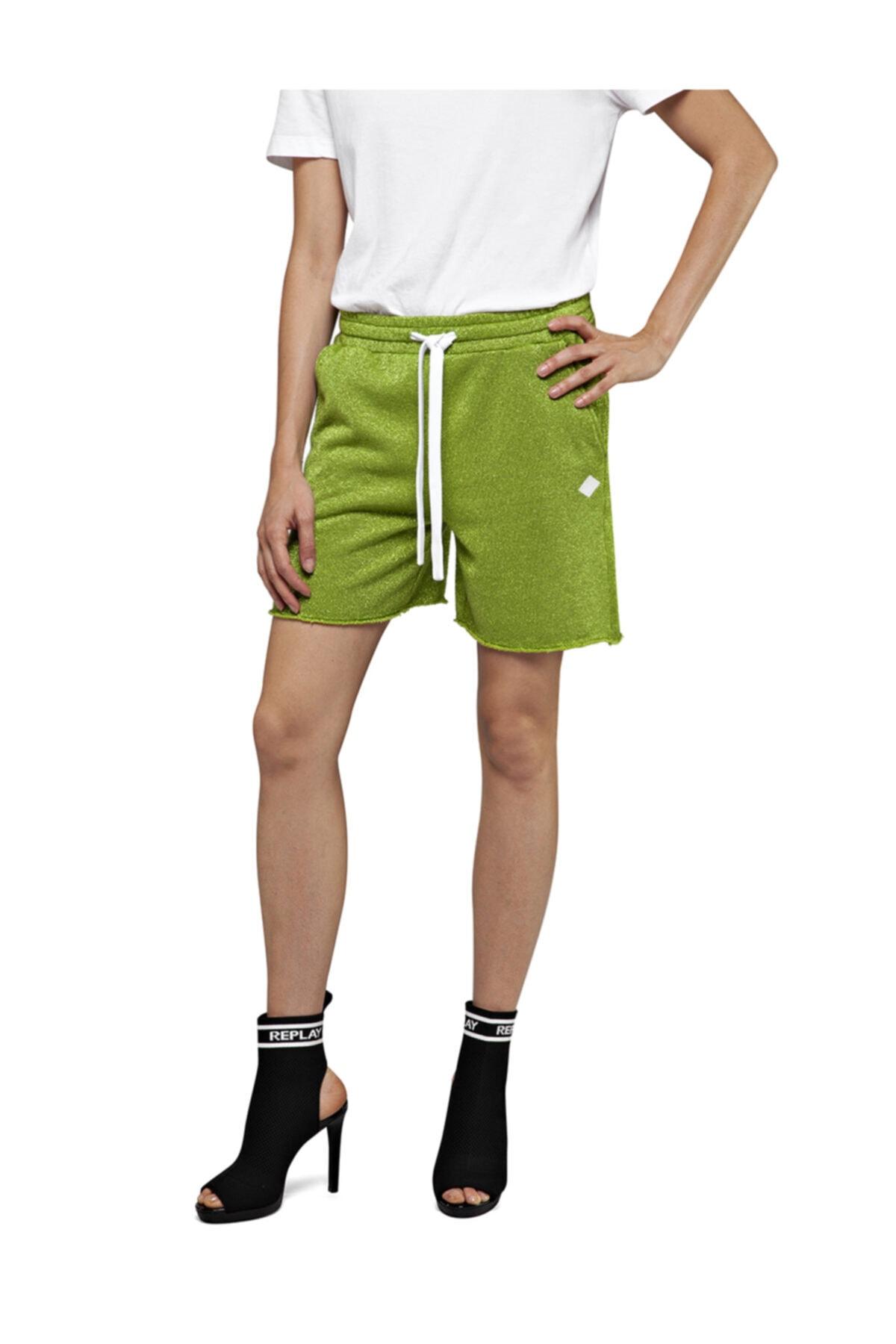 Replay Pantaloncino Lurex Fleece 1