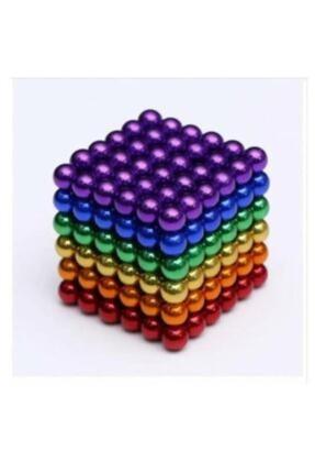 DeoN Neodyum Mıknatıs 6 Farklı Renkli Sihirli Manyetik Toplar 216 Parça