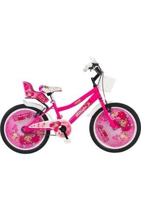BEBETO 20 Jant Cinderella 6-7-8-9-10-11-yaş Çocuk Pembe Bisiklet