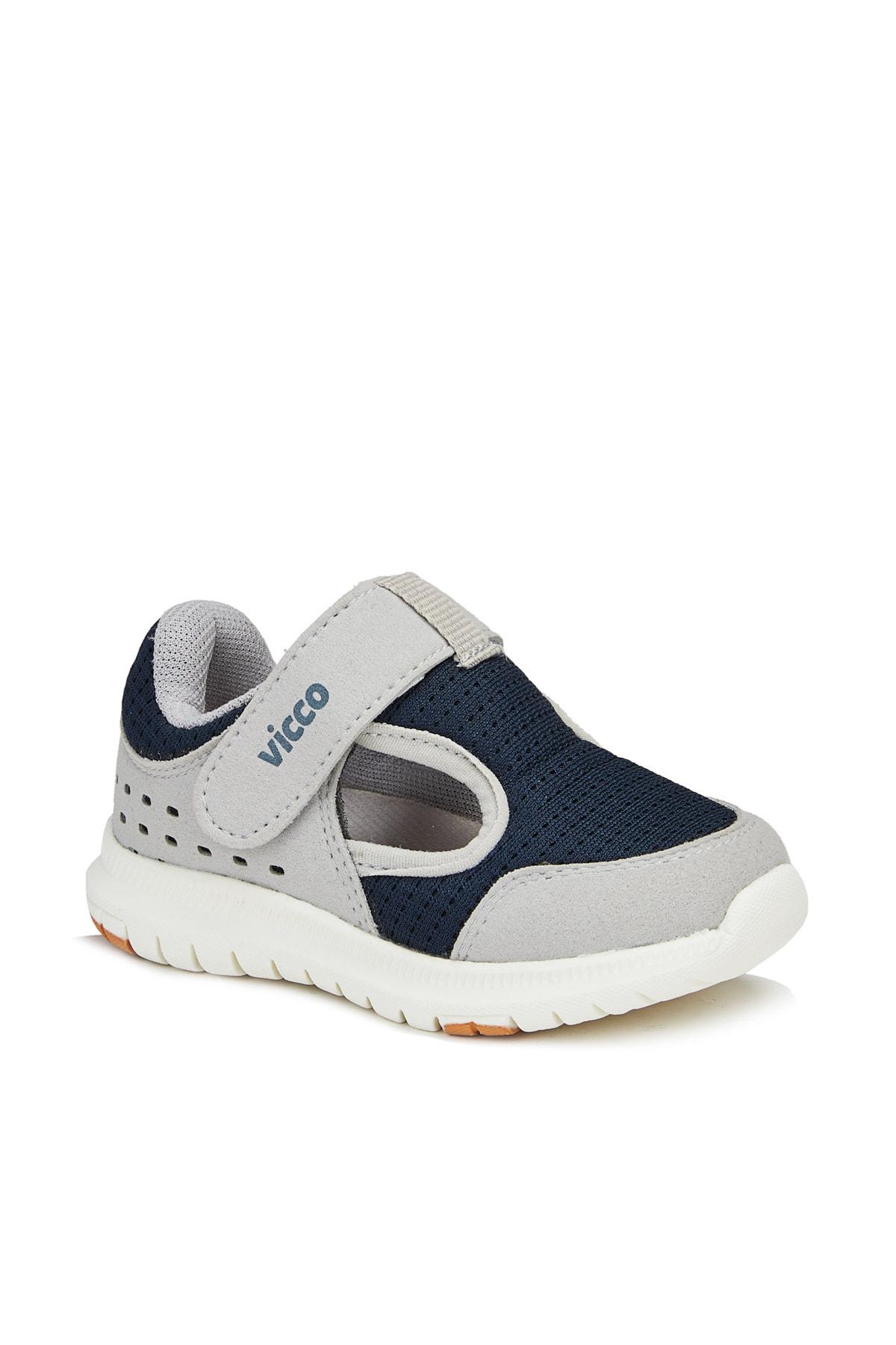 Vicco Teo Erkek Bebe Gri Spor Ayakkabı 1