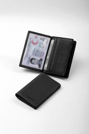 CENGİZ PAKEL Deri Siyah Kartlık-cüzdan