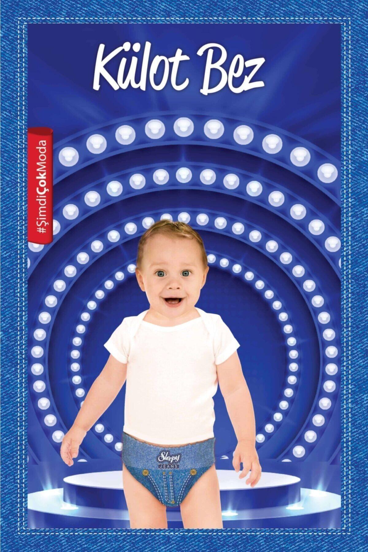 Sleepy Jeans Külot Bez 4 Beden Numara Maxi 240 Adet (7-14 Kg) 2