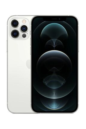 Apple iPhone 12 Pro Max 512GB Gümüş Cep Telefonu (Apple Türkiye Garantili) Aksesuarsız Kutu