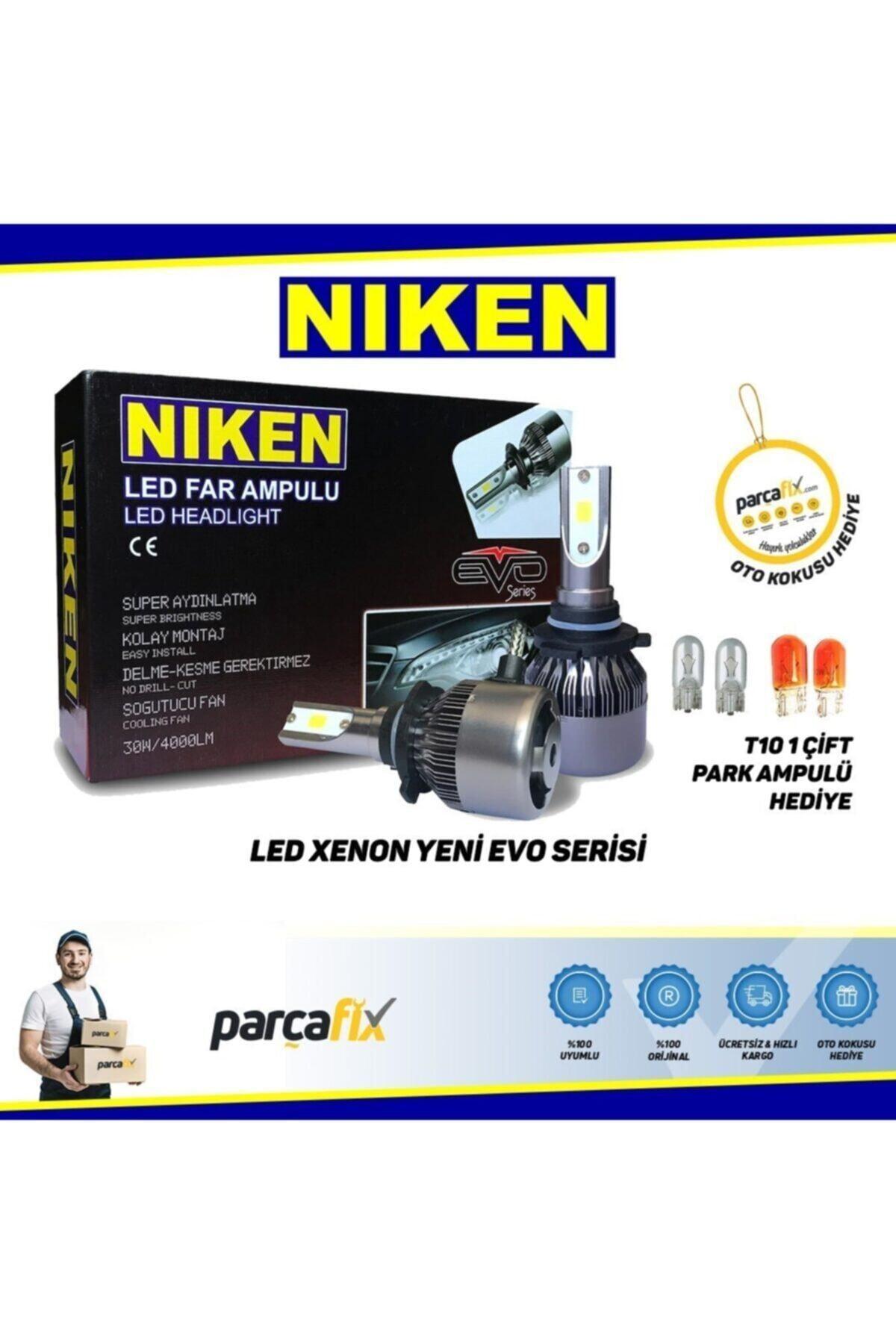 Niken Led Xenon Far Ampul H4 1