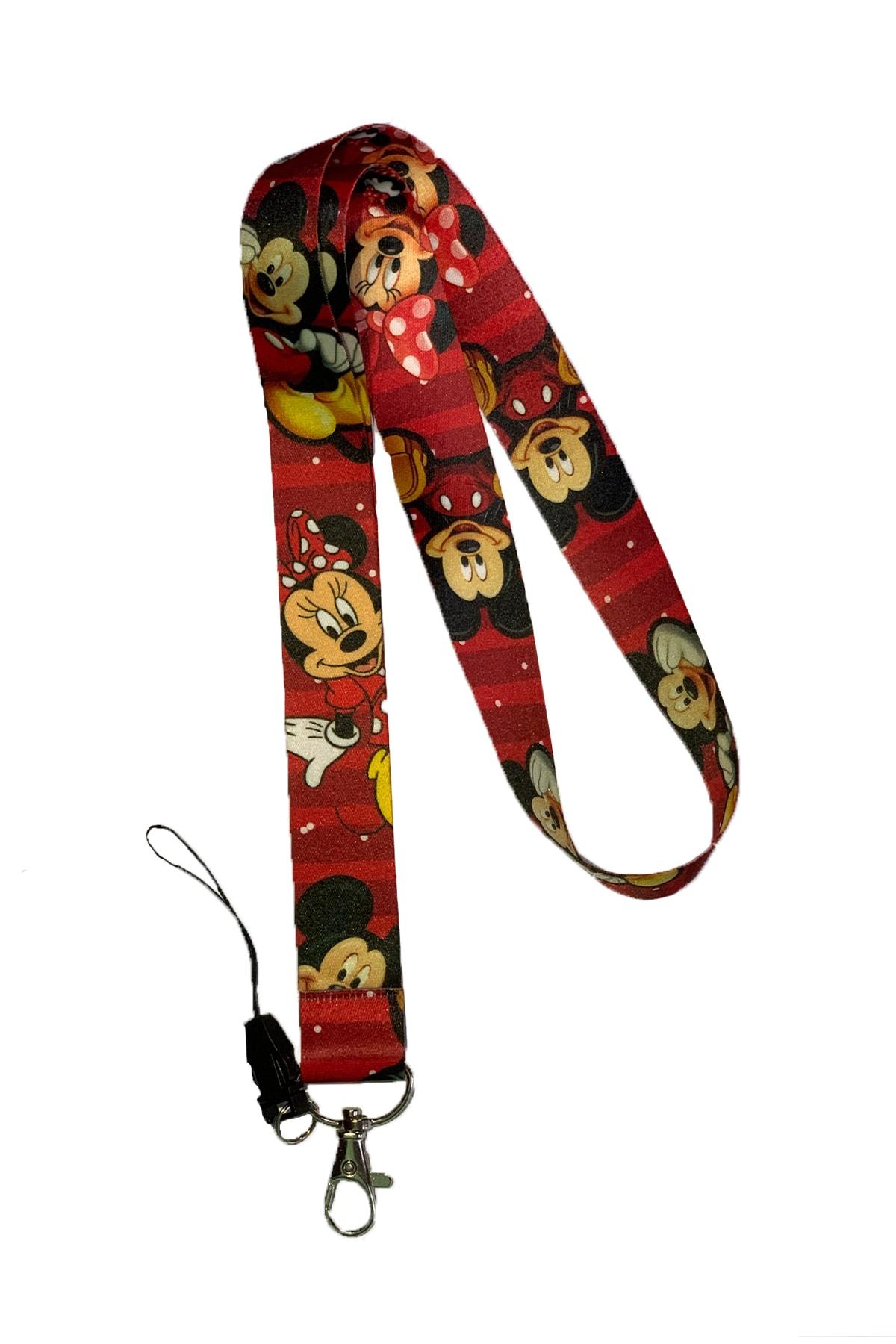 StormiStoretr Minnie Mouse Boyun Askı Ipi Yaka Kartlığı 1