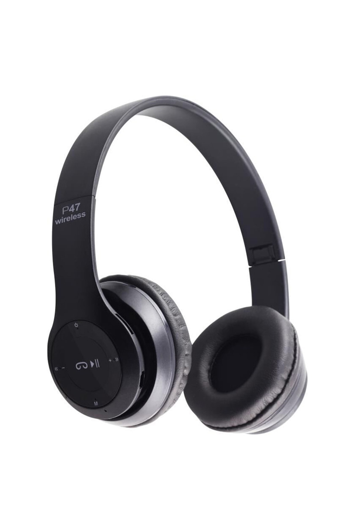 Mkey P47 Wireless Kulaklık, P47 Wireless Headphone Radyolu Versiyon, P47 Kulaklık, P47 Bluetooth Kulaklık 1