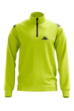 Kappa Erkek Neon Sarı Ceket