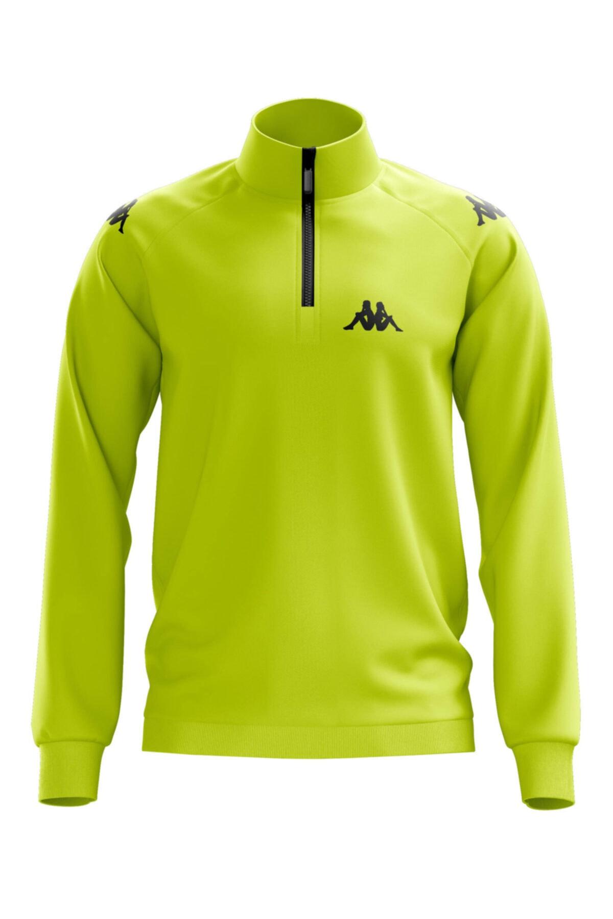 Kappa Erkek Neon Sarı Ceket 1