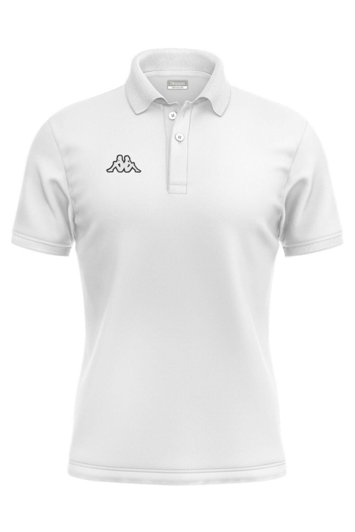 Kappa Kadın Beyaz Hege Polo Tshirt 1