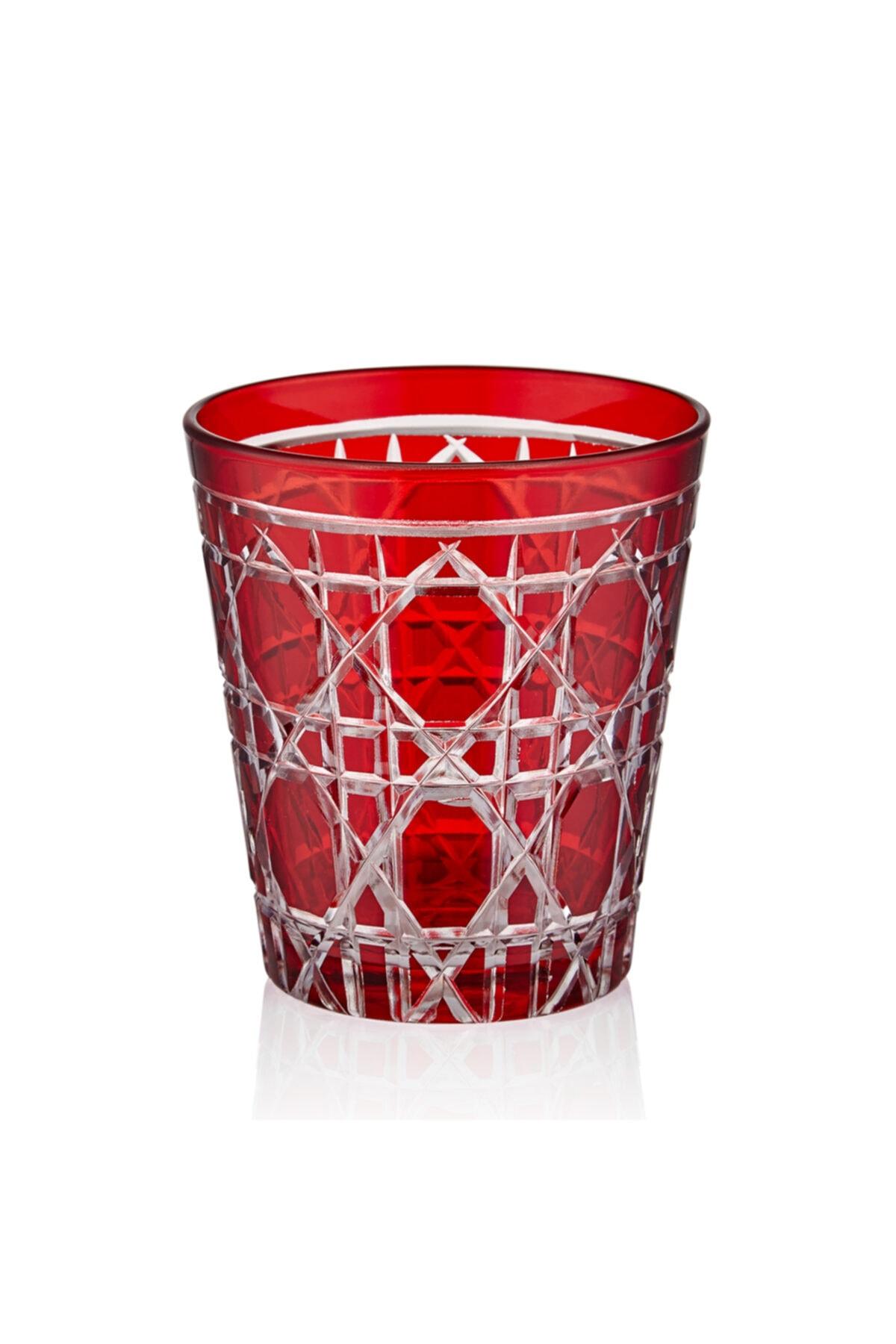 CHIARA ALESSI Kırmızı Glorıa Su Bardağı 1