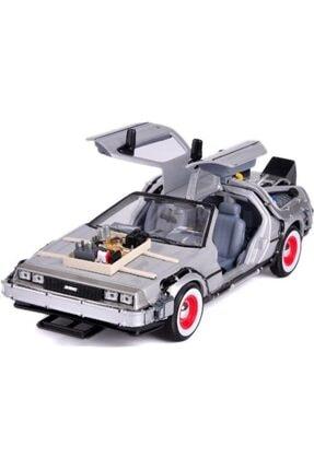 WELLY Geleceğe Dönüş Seri 3 Metal Model Araba Efsane Delorean 1:24ölçek