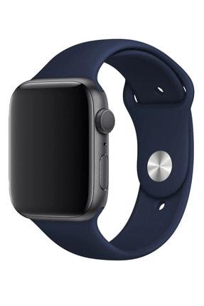 Fibaks Apple Watch 40mm A+ Yüksek Kalite Spor Klasik Silikon Kordon Kayış Bileklik