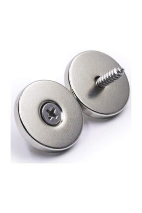 Dünya Magnet 1 Adet 30mm X 10/5mm X 6mm Havşa Delikli Güçlü Neodyum Mıknatıs