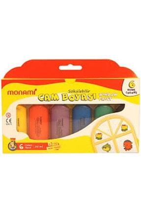 Monami Monamı Cam Boya 6 Renk Normal