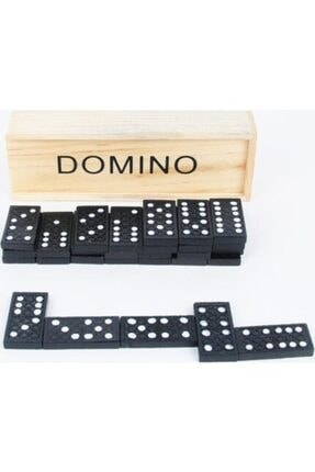 Magic Hobby Ahşap Saklama Kutulu Domino Taşı Hobi Oyunu