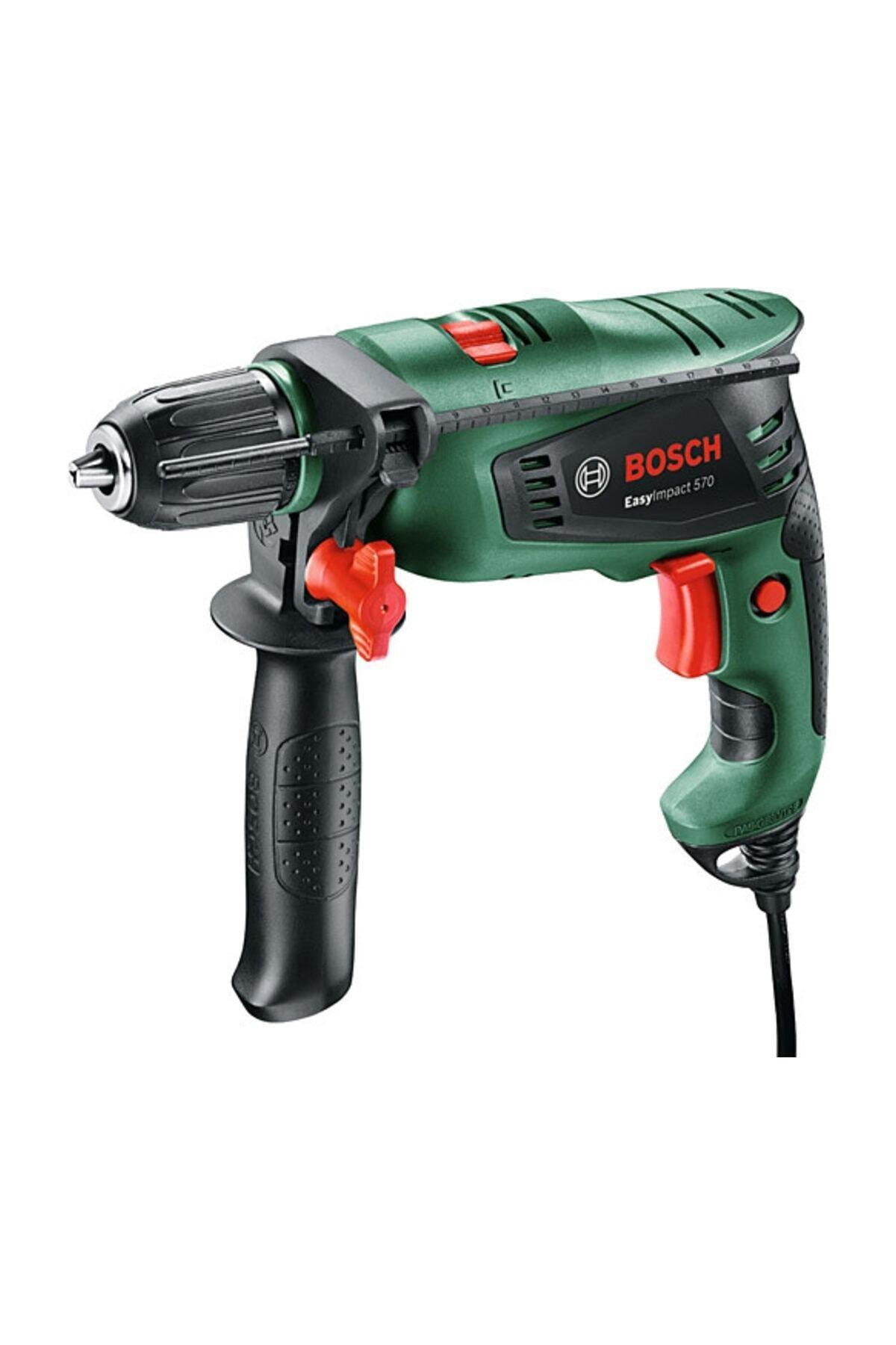 Bosch Easyımpact 570 Darbeli Matkap - Sırt Çantalı 2
