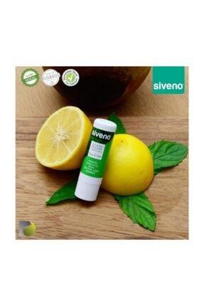 Siveno Sıveno %100 Doğal Nane Limonlu Dudak Koruyucu 6 Gr