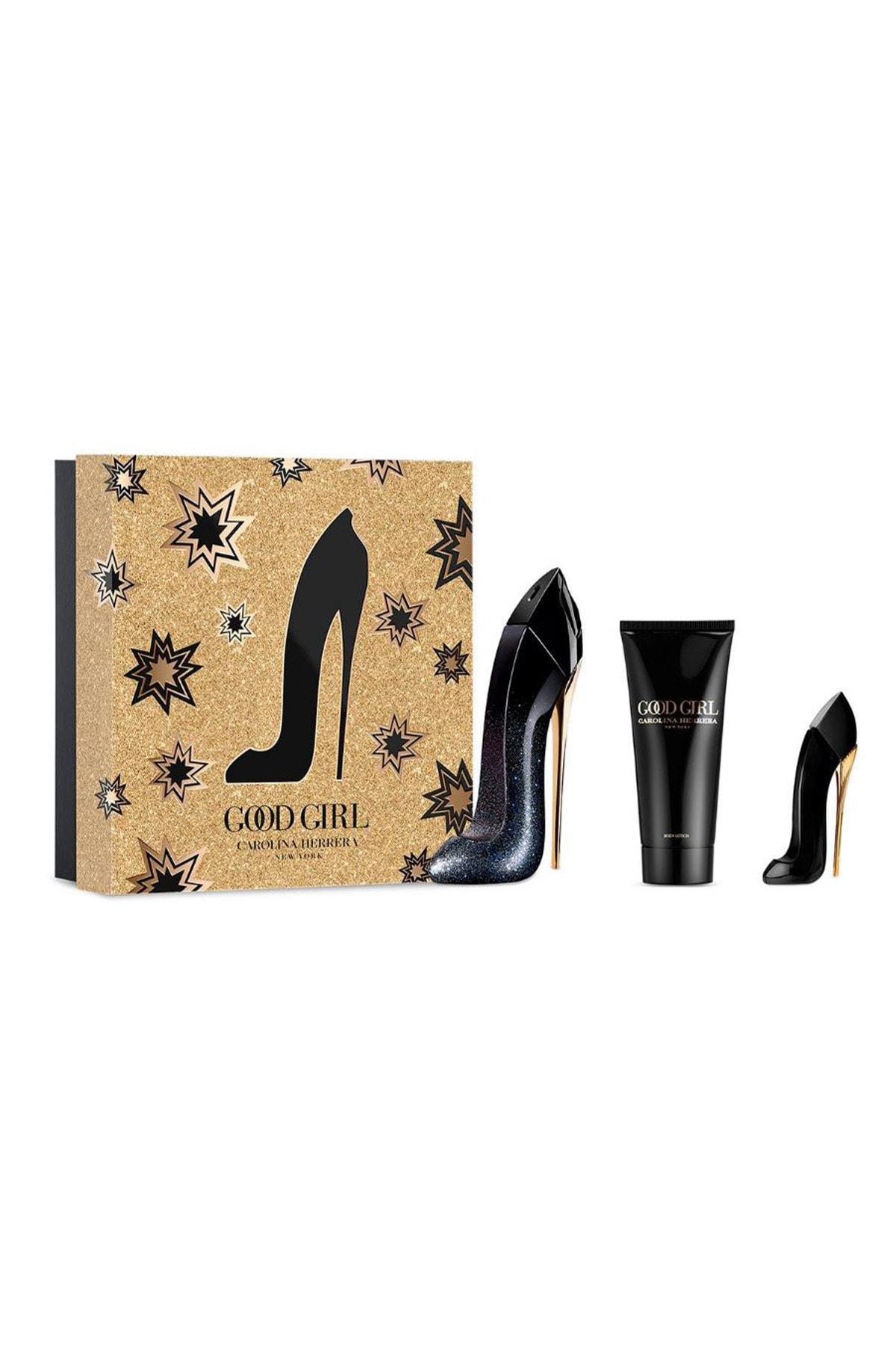 Carolina Herrera Good Girl Supreme Edp 80 ml + Body Lotion 100 ml + Miniatüre 8411061988770 1