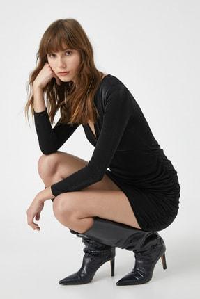 Koton Kadın Siyah Elbise 1KAK84536FK