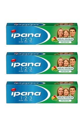 İpana Ipana Sağlıklı Gülüşler 100 Ml Diş Macunu 3 Adet