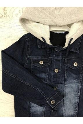 Esterella Erkek Çocuk Lacivert Kapüşonlu  Ceket